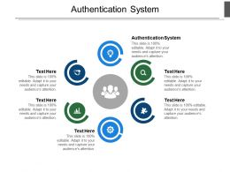 Authentication System Ppt Powerpoint Presentation Infographic Examples Cpb