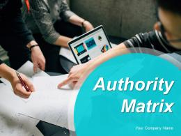 Authority Matrix Project Chartering Committee Client Representatives Project Manager