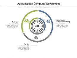 Authorization Computer Networking Ppt Powerpoint Presentation Inspiration Cpb
