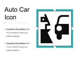 Auto Car Icon