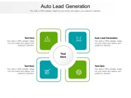 Auto Lead Generation Ppt Powerpoint Presentation Infographics Inspiration Cpb