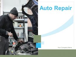 Auto Repair Mobile Engineer Repair Icon Tools Exhausting Mechanic Fixing Service