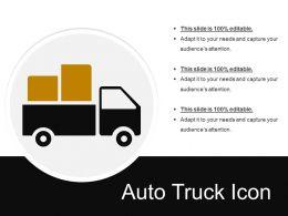 Auto Truck Icon