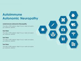 Autoimmune Autonomic Neuropathy Ppt Powerpoint Presentation Layouts Graphics