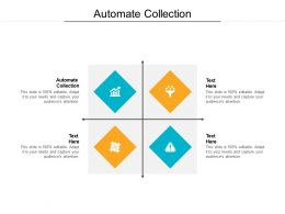 Automate Collection Ppt Powerpoint Presentation Styles Design Templates Cpb