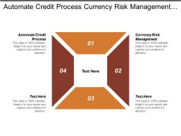 Automate Credit Process Currency Risk Management Big Data Intelligence Cpb