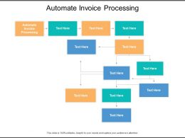 Automate Invoice Processing Ppt Powerpoint Presentation Summary Gallery Cpb