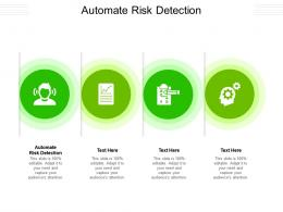 Automate Risk Detection Ppt Powerpoint Presentation Icon Themes Cpb
