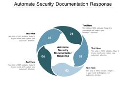 Automate Security Documentation Response Ppt Powerpoint Presentation Inspiration Introduction Cpb