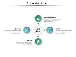 Automated Backup Ppt Powerpoint Presentation Professional Designs Cpb