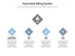 Automated Billing System Ppt Powerpoint Presentation Outline Graphic Tips Cpb