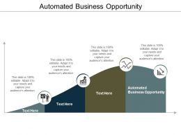 Automated Business Opportunity Ppt Powerpoint Presentation Slides Example Cpb