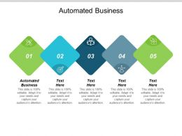 Automated Business Ppt Powerpoint Presentation Pictures Design Templates Cpb