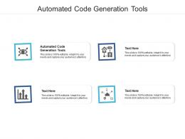 Automated Code Generation Tools Ppt Powerpoint Presentation Infographic Template Inspiration Cpb