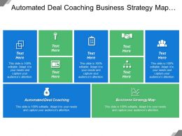 Automated Deal Coaching Business Strategy Map Ongoing Account Management
