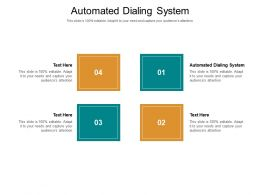 Automated Dialing System Ppt Powerpoint Presentation Ideas Outfit Cpb
