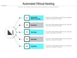 Automated Ethical Hacking Ppt Powerpoint Presentation Outline Layouts Cpb