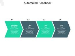 Automated Feedback Ppt Powerpoint Presentation Show Cpb