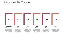 Automated File Transfer Ppt Powerpoint Presentation Summary Grid Cpb