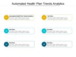 Automated Health Plan Trends Analytics Ppt Powerpoint Presentation Summary Visual Aids Cpb