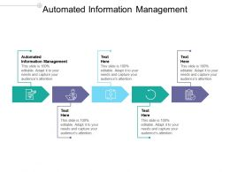 Automated Information Management Ppt Powerpoint Presentation Model Slide Portrait Cpb