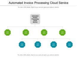 Automated Invoice Processing Cloud Service Ppt Powerpoint Presentation Pictures Layout Cpb