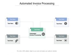Automated Invoice Processing Ppt Powerpoint Presentation Cpb