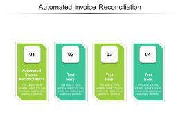 Automated Invoice Reconciliation Ppt Powerpoint Presentation Slides Grid Cpb