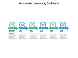 Automated Invoicing Software Ppt Powerpoint Presentation Layouts Example File Cpb
