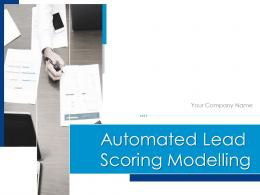Automated Lead Scoring Modelling Powerpoint Presentation Slides