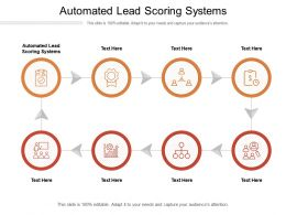 Automated Lead Scoring Systems Ppt Powerpoint Presentation Show Clipart Images Cpb