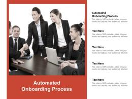 Automated Onboarding Process Ppt Powerpoint Presentation Summary Maker Cpb