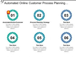 Automated Online Customer Process Planning Strategy Analysis Business