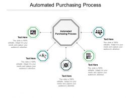 Automated Purchasing Process Ppt Powerpoint Presentation Inspiration Infographics Cpb