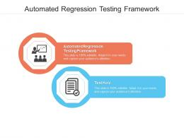 Automated Regression Testing Framework Ppt Powerpoint Presentation Summary Samples Cpb