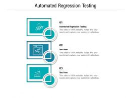 Automated Regression Testing Ppt Powerpoint Presentation Gallery Cpb