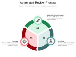 Automated Review Process Ppt Powerpoint Presentation Ideas Designs Download Cpb