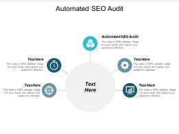 Automated SEO Audit Ppt Powerpoint Presentation Gallery Ideas Cpb