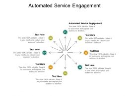 Automated Service Engagement Ppt Powerpoint Presentation Outline Samples Cpb