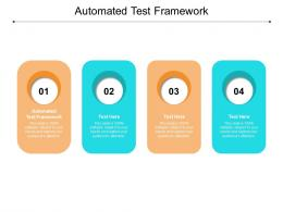 Automated Test Framework Ppt Powerpoint Presentation Gallery Guide Cpb