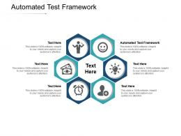 Automated Test Framework Ppt Powerpoint Presentation Ideas Samples Cpb