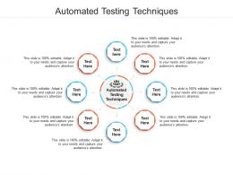 Automated Testing Techniques Ppt Powerpoint Presentation Infographic Template Shapes Cpb