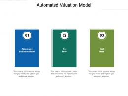 Automated Valuation Model Ppt Powerpoint Presentation Gallery Files Cpb