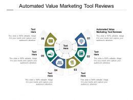 Automated Value Marketing Tool Reviews Ppt Powerpoint Presentation Portfolio Brochure Cpb
