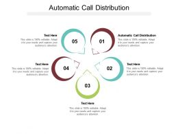 Automatic Call Distribution Ppt Powerpoint Presentation Infographics Summary Cpb