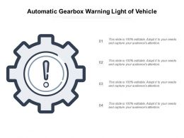 Automatic Gearbox Warning Light Of Vehicle