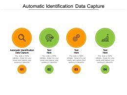 Automatic Identification Data Capture Ppt Powerpoint Presentation Design Templates Cpb