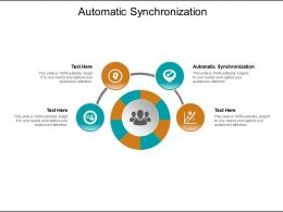 Automatic Synchronization Ppt Powerpoint Presentation Pictures Graphics Download Cpb