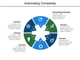 Automating Complexity Ppt Powerpoint Presentation Infographic Demonstration Cpb