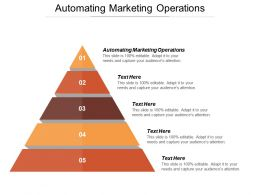 Automating Marketing Operations Ppt Powerpoint Presentation File Designs Cpb